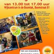 Poster Repair Café voor Stichting Social Energy
